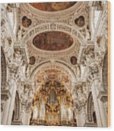 St. Stephen Cathedral Interior Wood Print