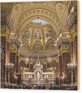St. Stephen's Basilica Wood Print