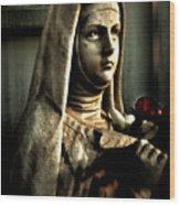 St. Teresa  Wood Print
