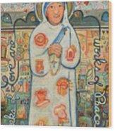 St. Teresa Of Kolkata Wood Print