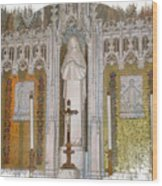 St Therese Of Liseaux Wood Print