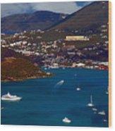 St. Thomas Bay Wood Print