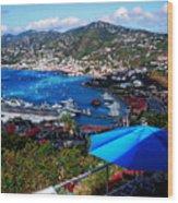 St. Thomas - Caribbean Wood Print