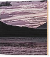 St Thomas - Sunset 2 Wood Print