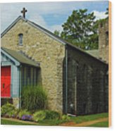 St. Timothy's Episcopal Church Wood Print
