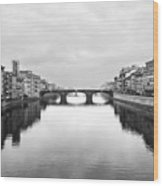 St. Trinity Bridge, Florence Wood Print