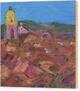 St. Tropez Wood Print by Dan Castle