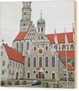 St. Ulrich's And St. Afra's Abbey Wood Print