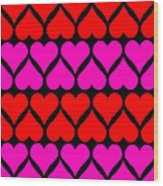 St. Valentine Love Wood Print