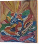 St. Valentine Wood Print