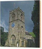 St Wilfrid Burnsall Wood Print