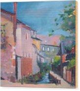 St Yrieux La Perche  Wood Print
