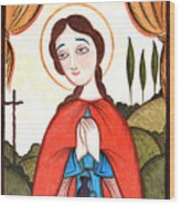 St. Zita - Aozit Wood Print