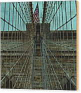 Stable - Brooklyn Bridge Wood Print