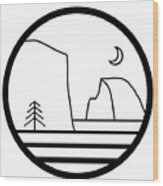 Staff Logo Wood Print