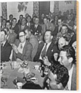 Stag Dinner And Awards Monterey Peninsula Country Club, Pebble Beach 1950 Wood Print