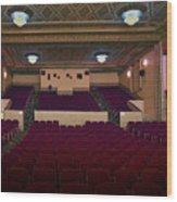 Stage View Wood Print