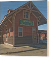 Stagecoach Transportation  Wood Print