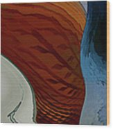 Staged Wood Print