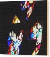 Stained Glass View Wood Print