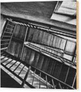Staircase Wood Print