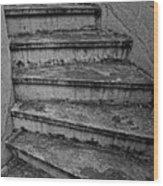 Stairs Wood Print