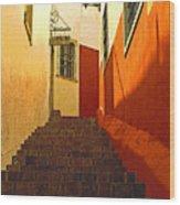 Stairway Guanajuato Wood Print