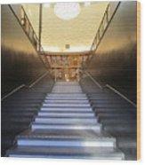 Stairway To Knowledge Wood Print