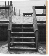 Stairway To Lbi Heaven Wood Print