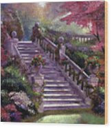 Stairway To My Heart Wood Print