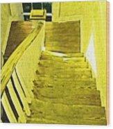 Stairway To No Where Wood Print