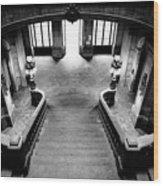 Stairway V Wood Print