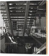Stairways Wood Print