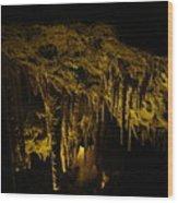 Stalactites Wood Print