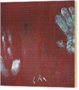 Stamped Wood Print
