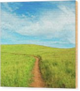 Stand By Me Wood Print