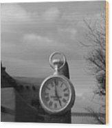Standard Time  Wood Print