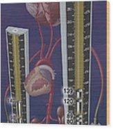 Standards For Hypertension, Illustration Wood Print