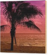 Standing - Jersey Shore Wood Print