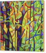 Standing Room Only - Crop Wood Print