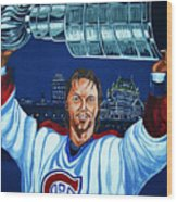 Stanley Cup - Champion Wood Print