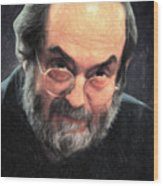 Stanley Kubrick Wood Print