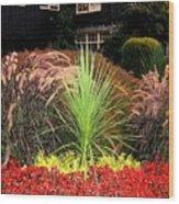 Stanley Park Gardens Wood Print