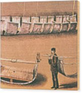 Stanleys Portable Boat Wood Print