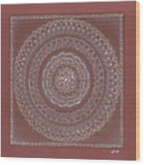 Star Blossom Wood Print