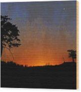 Star Bright Wood Print