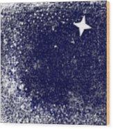 Star Cluster Wood Print