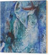 Star Dancer Wood Print