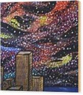 Star Dancing Wood Print