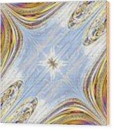 Star Galaxy Central Wood Print
